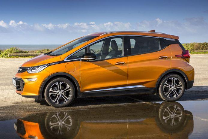 Elektrische auto's mei 2018