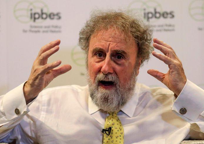 Robert Watson voorzitter van IPBES, dat de rapporten samenstelde.
