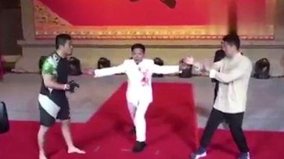 """MMA-vechter wil aantonen dat Chinese kungfu """"bedrog"""" is en laat weinig heel van mysterieuze nazaat van Ip Man, de mentor van Bruce Lee"""