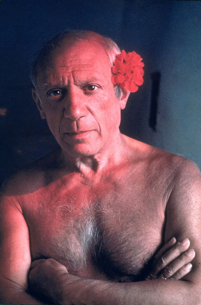 Pablo Picasso Beeld Gjon Mili / Getty