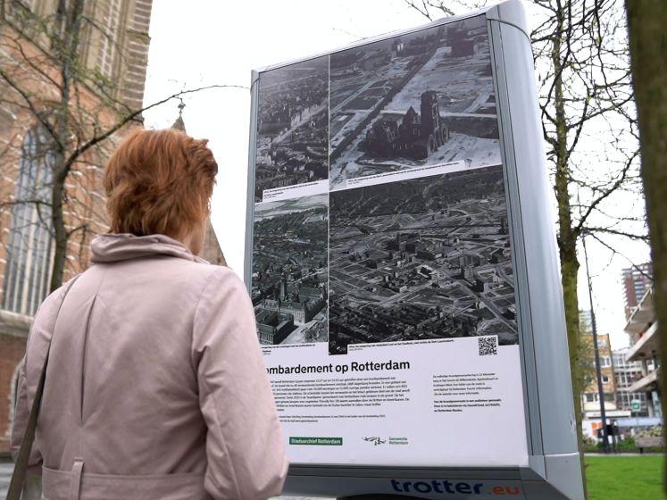 Rotterdam zoekt slachtoffers van het bombardement: 'Ieder mens doet ertoe'