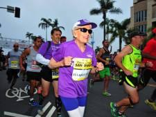 Ex-kankerpatiënt (92) is oudste vrouw die marathon uitliep