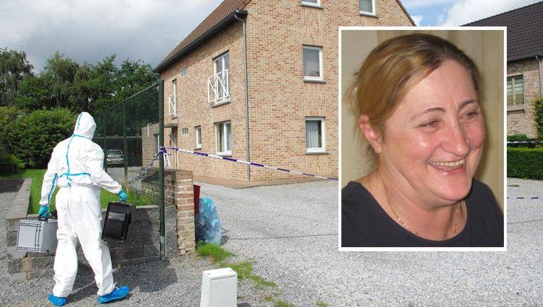 De satanist en zijn moeder woonden in de flat op het gelijkvloers.