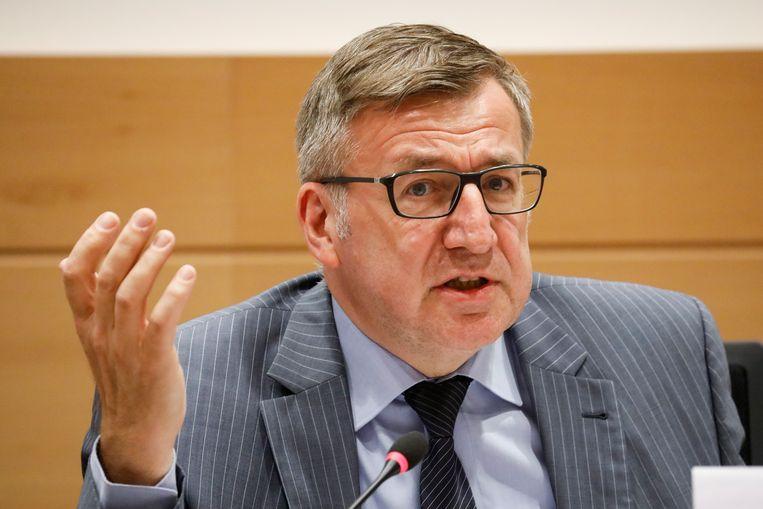 CD&V-senator Steven Vanackere