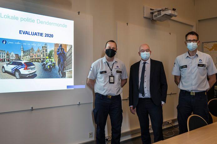 De politiezone is bijzonder tevreden over de goede cijfers van 2020, en wil verder blijven inzetten op daling van het aantal letselongevallen.