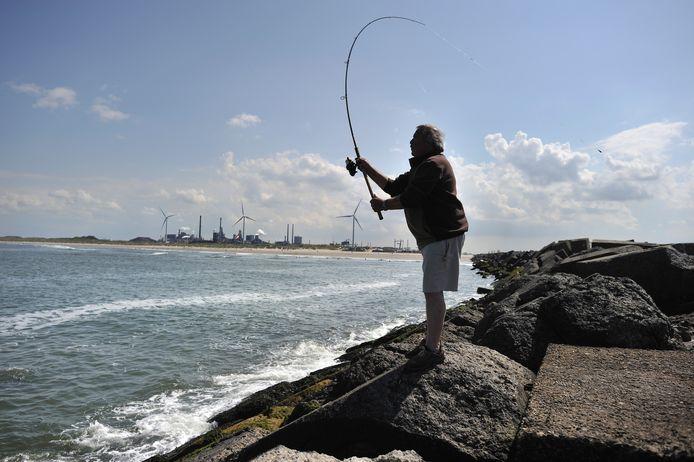 Een visser, ter illustratie.
