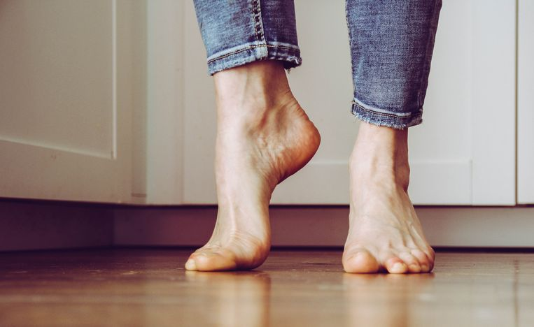 Feet on the floor Beeld Getty Images