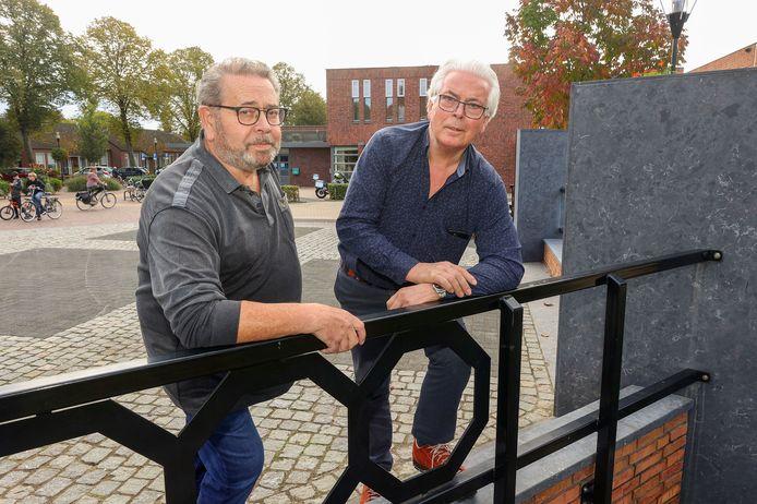 Jan Hurkmans (links) en Manus Kuijpers.