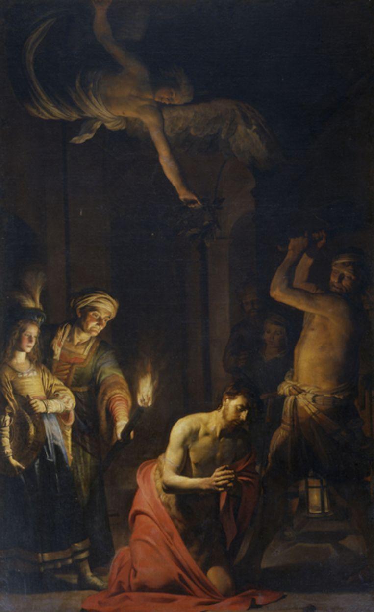 De onthoofding van Johannes; Gerard Honthorfst. 1617-1618. Beeld Centraal Museum Utrecht