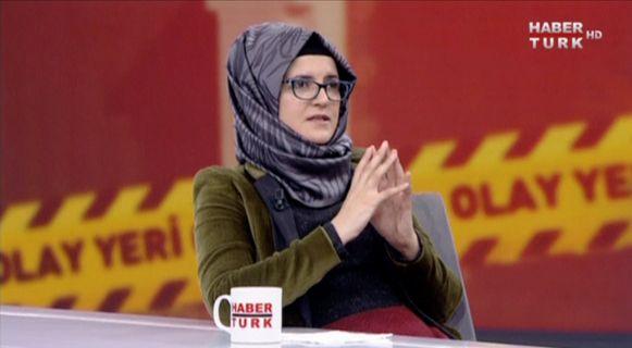Hatice Cengiz, de verloofde van de Saudische journalist Jamal Khashoggi, heeft een interview gegeven aan de Turkse televisie.