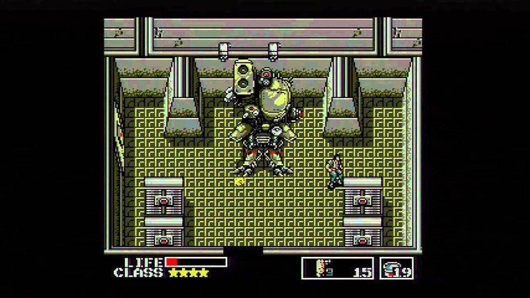 Metal Gear. Beeld rv