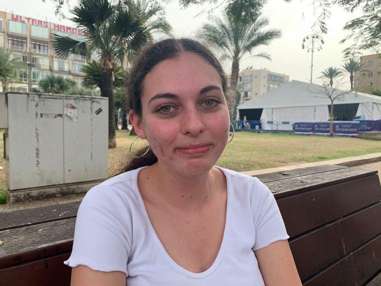 Aya Shemi: 'Die vaccins had geen andere politicus dan Netanyahu beter kunnen regelen'. Beeld Ties Brock