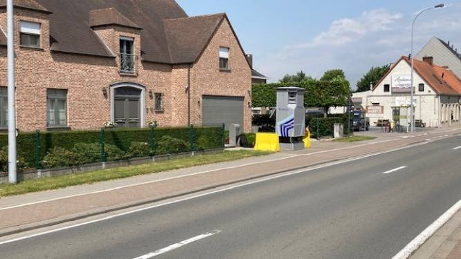 Superflitspaal verhuist naar Lotenhullestraat