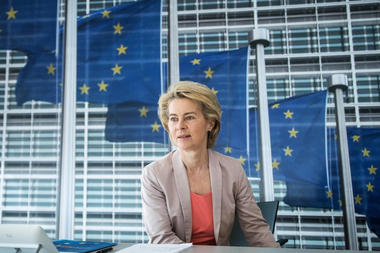 Europees Commissievoorzitter Ursula von der Leyen. Beeld Stefanie Loos/European Commissio