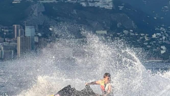 Ook op vakantie zoekt hij snelheid en adrenaline op: Max Verstappen deelt spectaculaire beelden van op de jetski