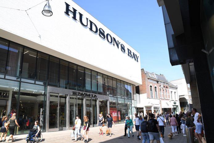 Wonen op de hogere verdiepingen van het pand van Hudson's Bay?