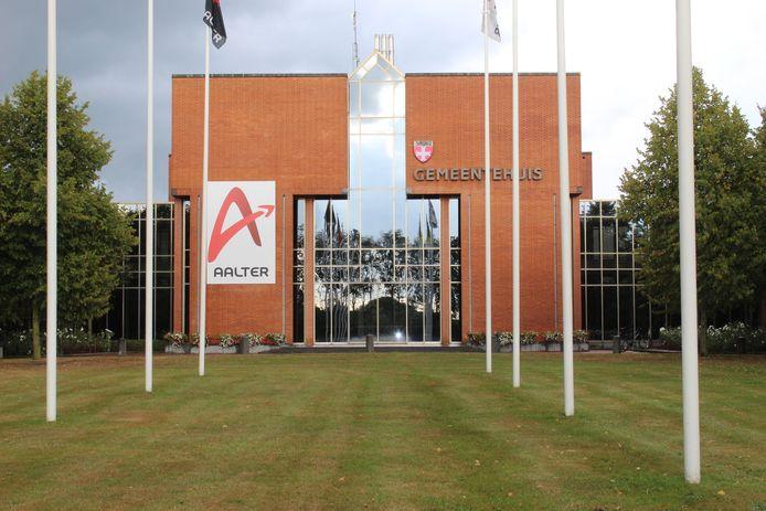 Het gemeentehuis van Aalter.
