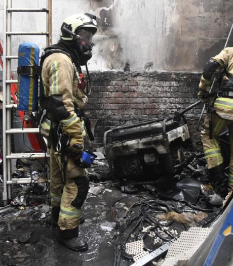 Un ouvrier grièvement brûlé après un incendie à Anderlecht