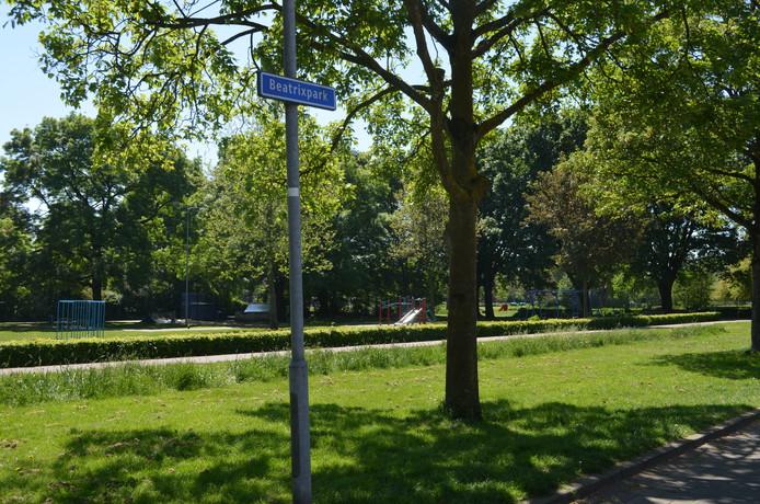 Het Beatrixpark in de Kruiskamp