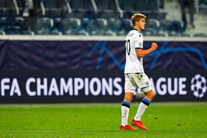 Club Brugge en Charles De Ketelaere slaagden er vorig seizoen net niet in om de groepsfase van de Champions League te overleven.
