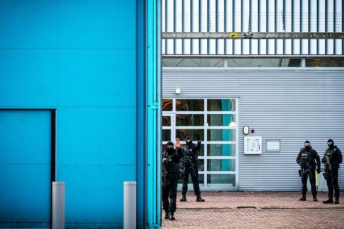 De Penitentiaire Inrichting (PI) in Vught, die ook een speciale terroristenafdeling heeft.