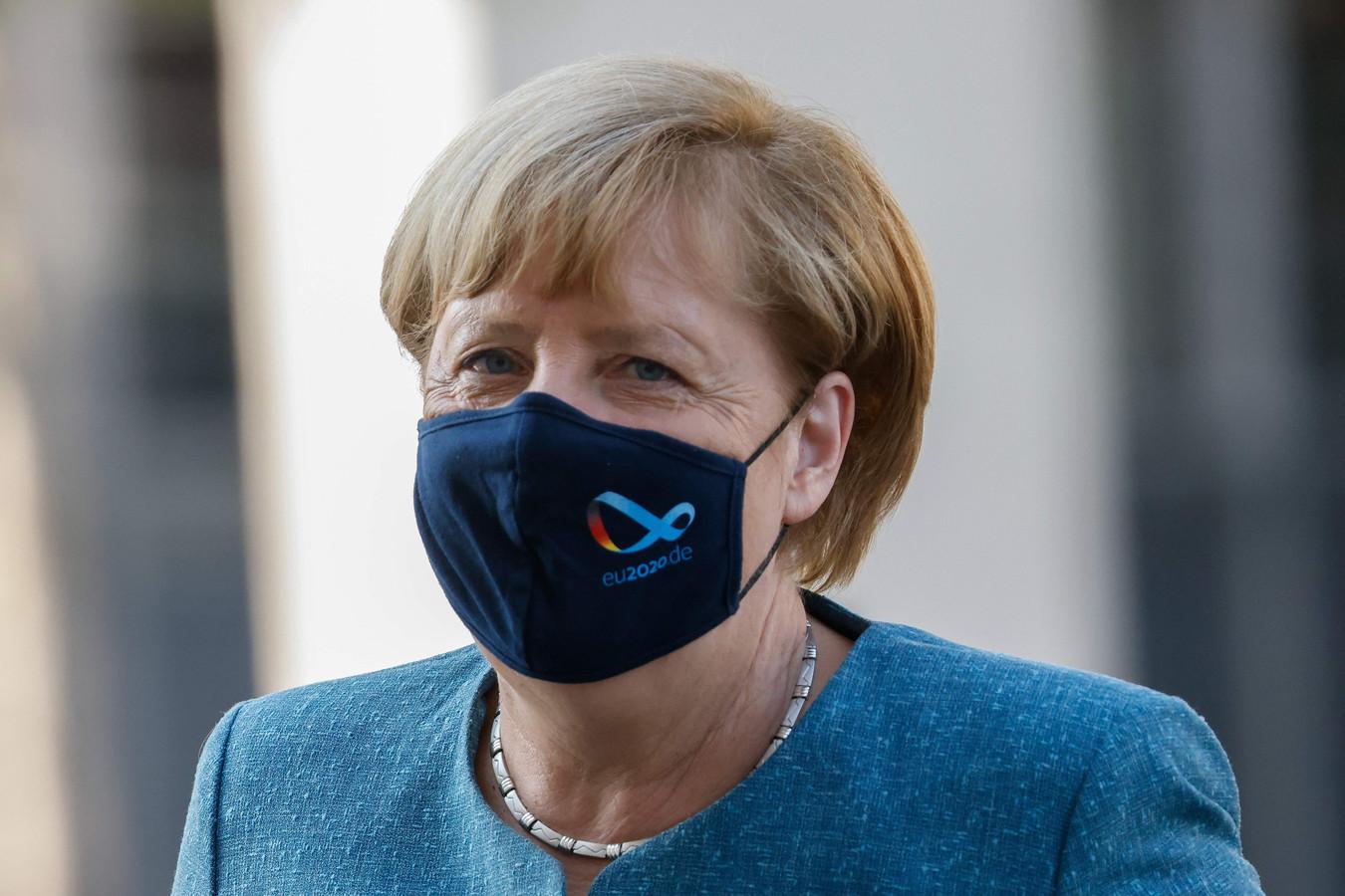 Angela Merkel heeft het vertrouwen van de bevolking