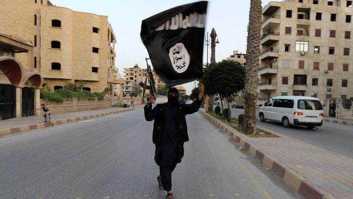 Een strijder van IS.