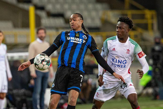 Tahith Chong was met een assist belangrijk voor Club Brugge.