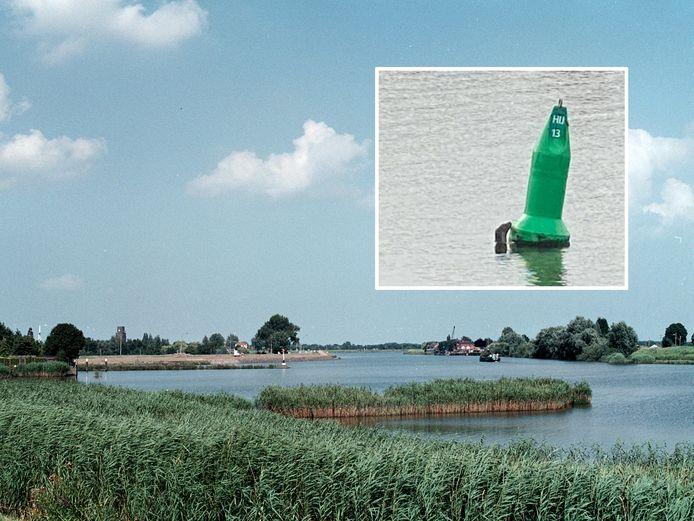 In de Hollandsche IJssel tussen Ouderkerk en Gouderak is mogelijk een otter gespot.