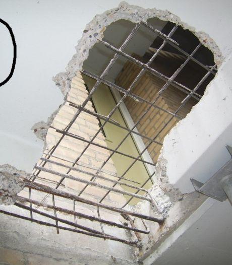 Betonrot bron van zorg in Horstenflats Liendert