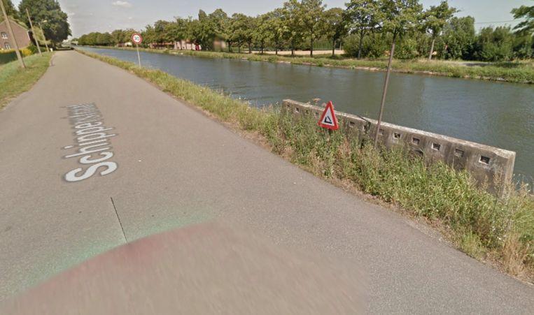Het kanaal in Boorsem.
