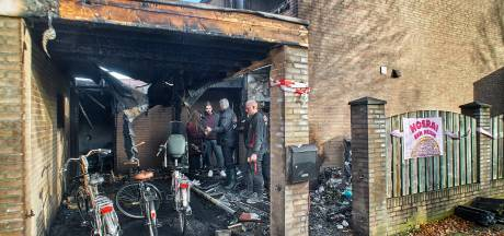 Ingebroken bij woning van jong gezin aan Staringstraat in Oss waar brand woedde