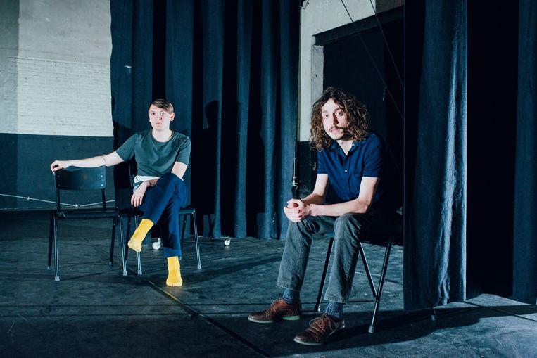 Louis Janssens (links) en Timo Sterckx (rechts). Beeld Daniil Lavrovski