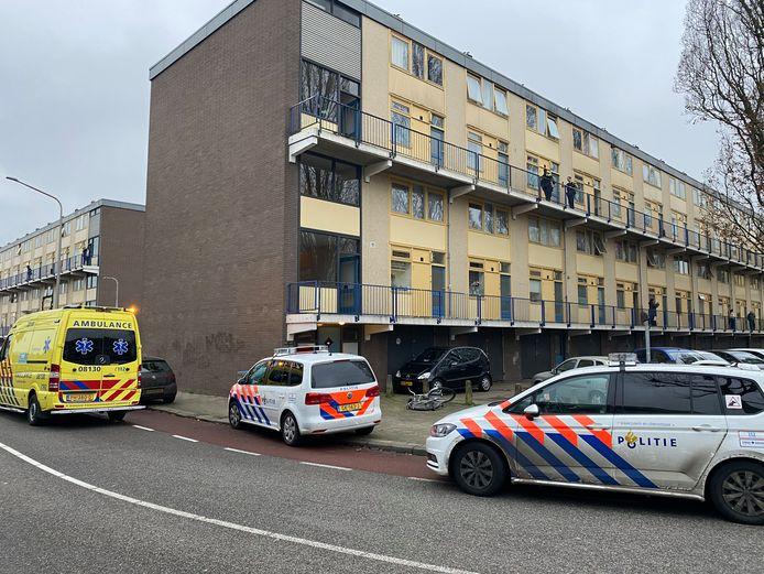 In deze flat in Lankforst zou de schietpartij zijn geweest.