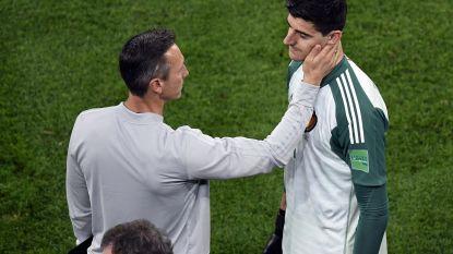 """Ontgoochelde Courtois spaart kritiek op Fransen niet: """"Ze spelen gewoon antivoetbal"""" - Hazard: """"Liever verliezen met België dan winnen met dit Frankrijk"""""""