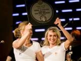 Bronzen Irene Schouten gehuldigd in Holland Heineken House