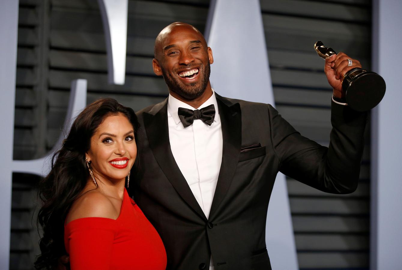 Kobe Bryant en vrouw Vanessa