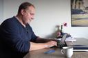 VVD-Tweede Kamerlid Thierry Aartsen werkt noodgedwongen thuis door het corona-virus.