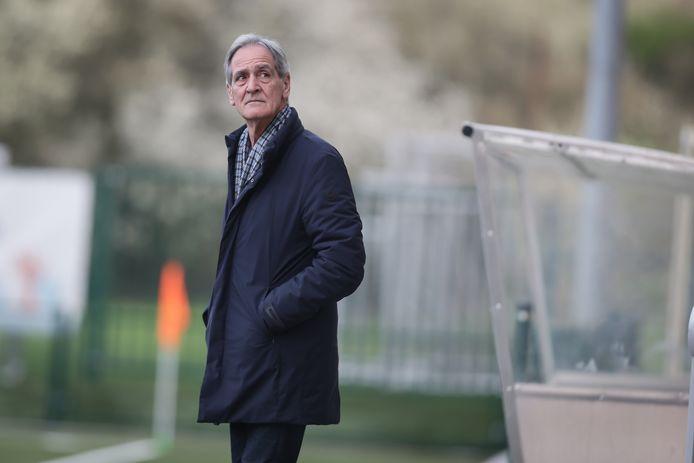 Ondervoorzitter Johny Castermans kijkt nu al reikhalzend uit naar de competitiestart van Belisia SV.
