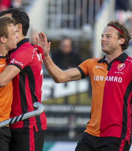 Winst Oranje-Rood op verliezersdag: hockeyers eindigen EHL als negende