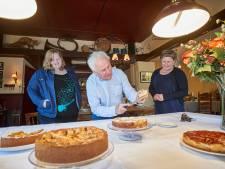 Jan had nog nooit een taart gebakken, maar wint  de Appeldag in Gelselaar