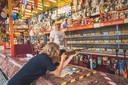 Kermis op het SInt-Pieterspleini met coronamaatregelen