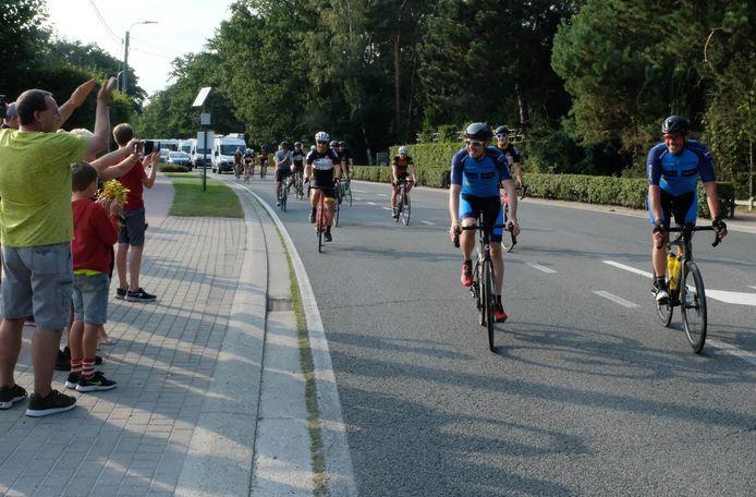 Swa en Filip arriveren in Bonheiden.