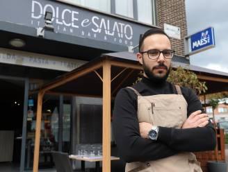 """Restaurant Dolce e Salato moest dag voor heropening volledig terrasplan omgooien: """"De kosten lopen op tot 3.000 euro"""""""