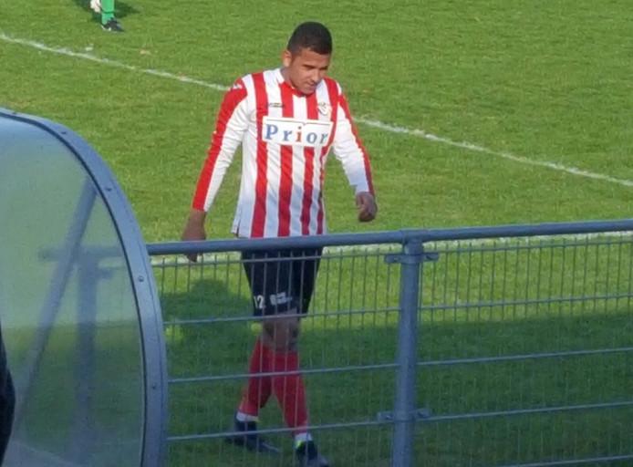 Jarreau Manuhuwa baalt als een stekker na het gelijkspel van Vlissingen tegen Deso