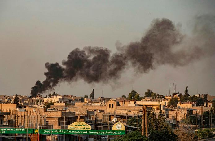 L'assaut de l'armée turque à Ras al-Ain, village syrien à la frontière entre les deux États.