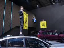 Klimaatactivisten dreigen autoshow te verstoren