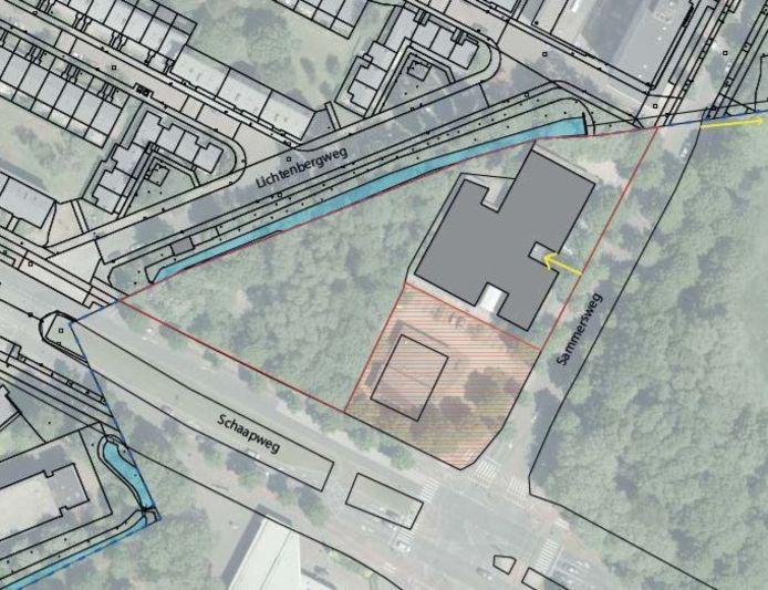 Op de Sammersweg in Rijswijk gaat Den Haag woningen bouwen.