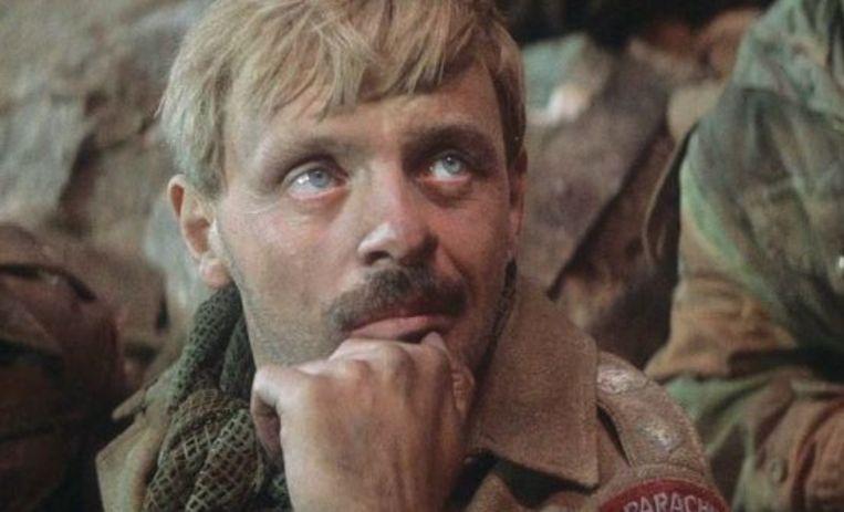 Anthony Hopkins in A Bridge Too Far (1977). Beeld