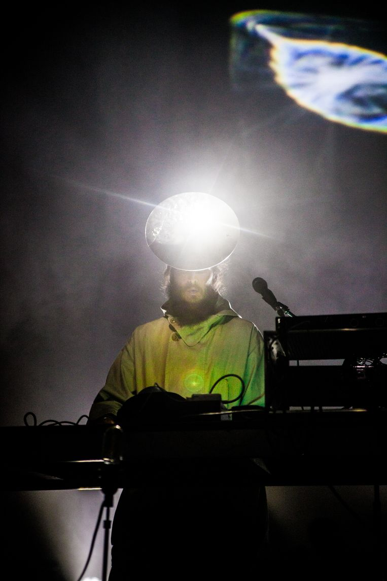 Pantha du Prince op Bozar Electronic Arts Festival. Beeld Lilith Geeraerts